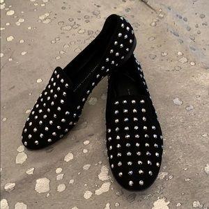 Giuseppe zanotti crystal loafers